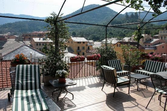 Hotel Nazionale: The roof terrace