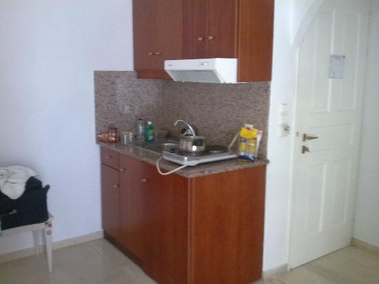 Domna Petinaros Apts Hotel Mykonos: studio con angolo cottura