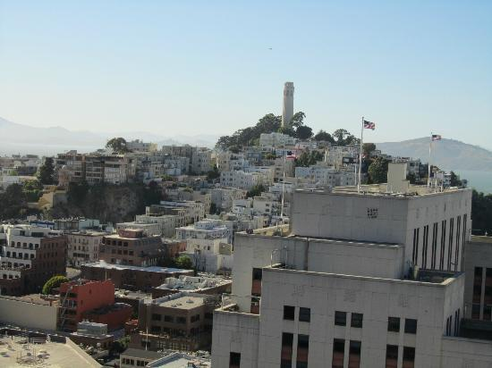 Le Meridien San Francisco: Coit tower from the room