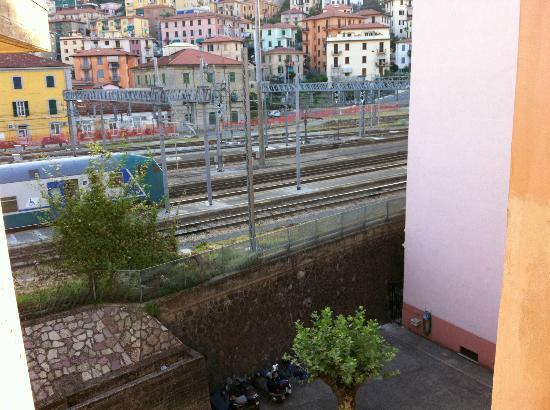 Albergo Venezia: affaccio in stazione