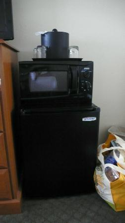 BEST WESTERN El Rancho: Fridge, microwave, coffe/tea maker