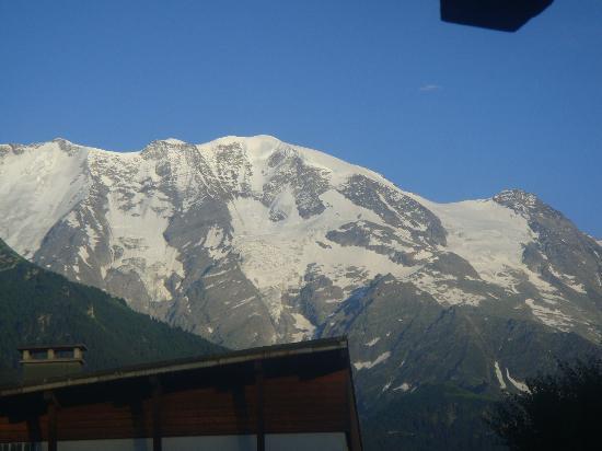 Hotel Club mmv Saint-Gervais Le Monte Bianco: vue de la terrasse