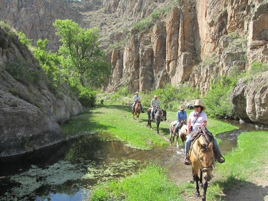 Geronimo Trail Guest Ranch: Breathtaking trails