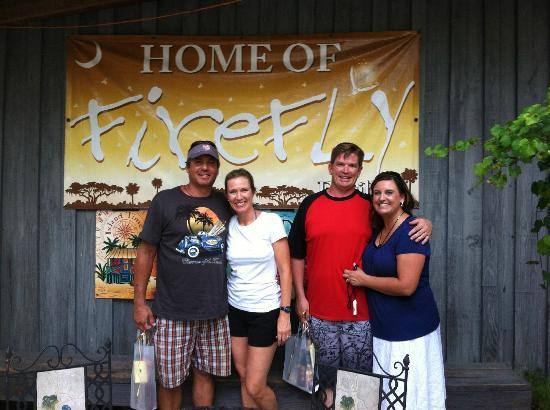 Firefly Distillery: A great time had by all