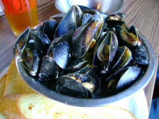Toby's Mussels don't lie.