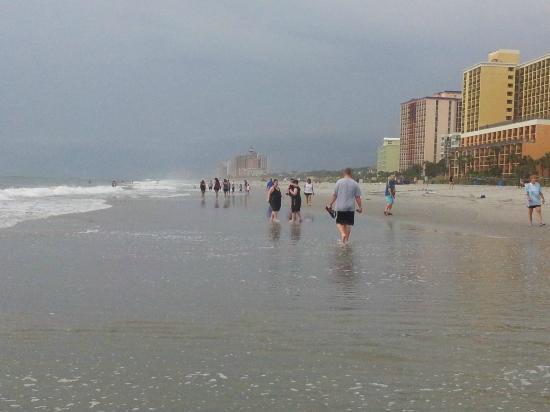Ocean Reef Resort: after a storm