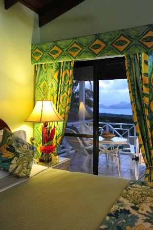 The Mount Nevis Hotel: A Superior Suite at Sunset