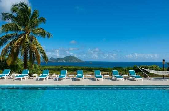 The Mount Nevis Hotel: 60 ft Freshwater Pool with a View