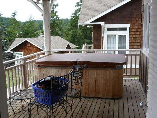 WorldMark Deer Harbor: Hot Tub