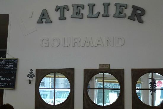 L'Atelier Gourmand : La salle