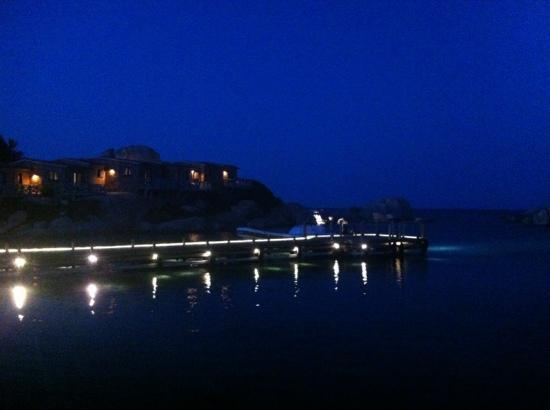 Hotel & Spa des Pecheurs : by night