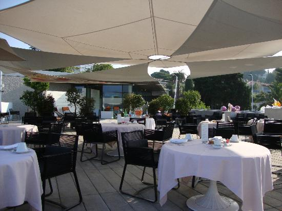 Cap d'Antibes Beach Hotel : The restaurant