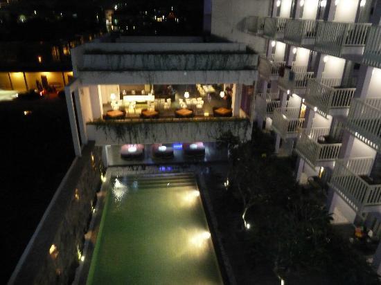 Berry Hotel: vue de la chambre