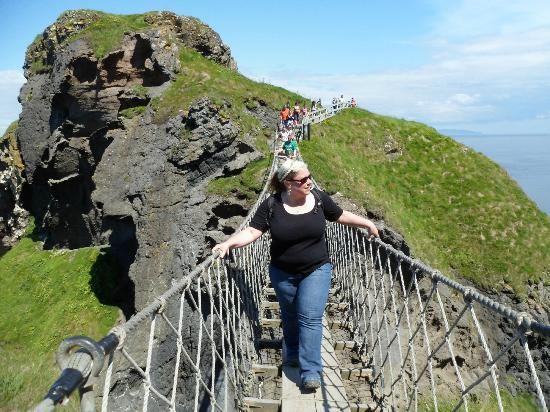 Pearl Court Guesthouse: Carrick-a-Rede rope bridge