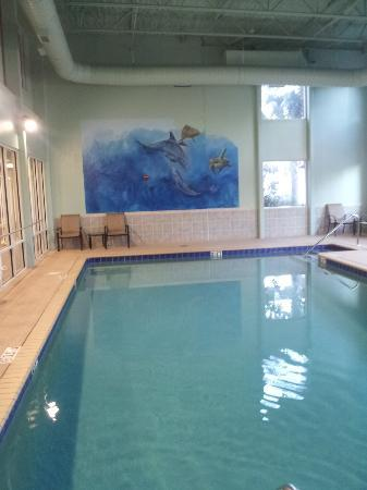 Tidewater Beach Resort: indoor pool