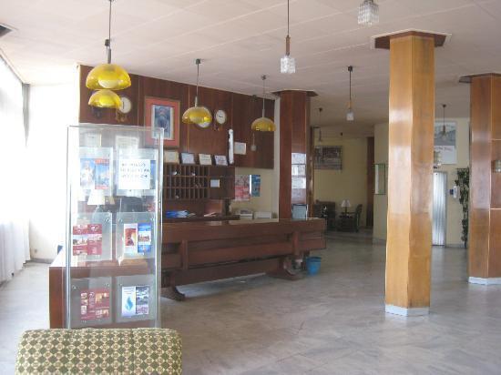Asmara, Eritrea: Réception de l'hôtel