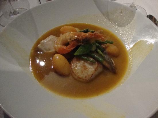 Cap d'Antibes Beach Hotel : Great bouillabaisse