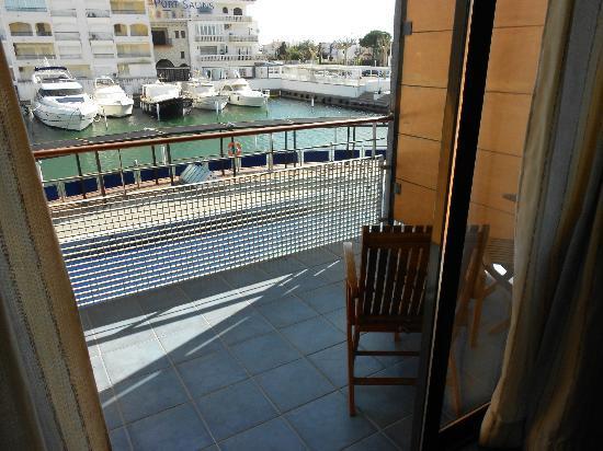Port Salins Hotel : terrasse