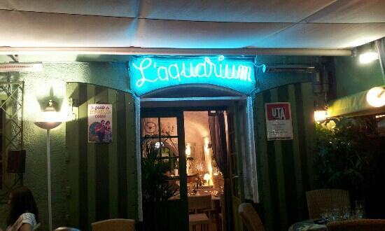 Restaurant L'Aquarium : La Terrasse