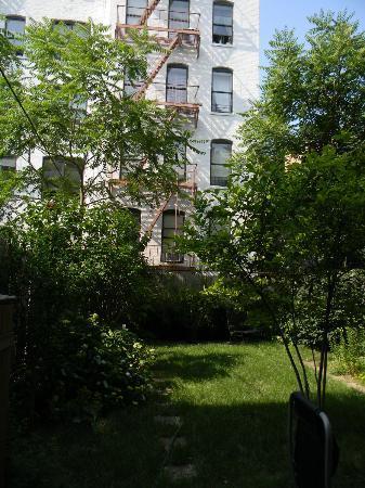 Chez Michelle: le jardin