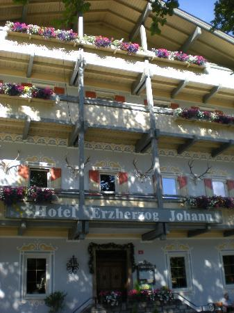 Erzherzog Johann: hotel tres calme et bien situé pres d'innsbruck