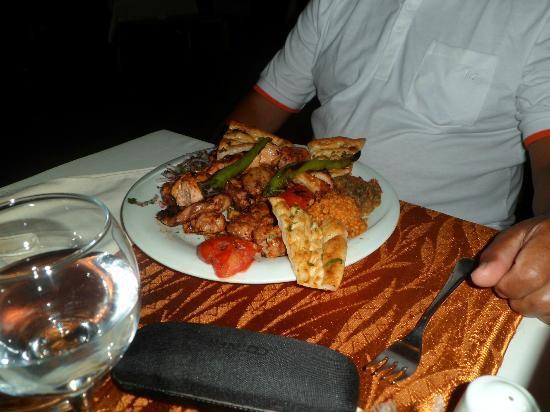 Saray Zetas Restaurant : Kebab