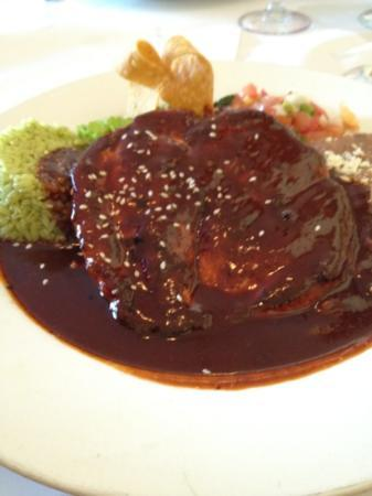 Cafe Del Sol: chicken mole