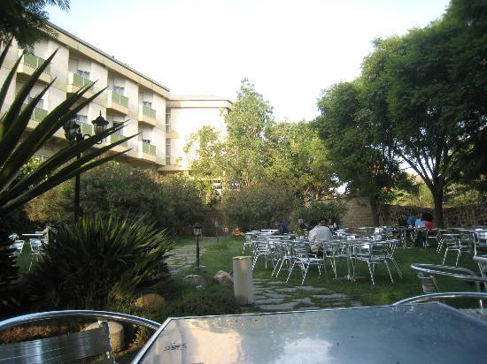 Embasoira Hamasien Hotel: le jardin très vert et agréable