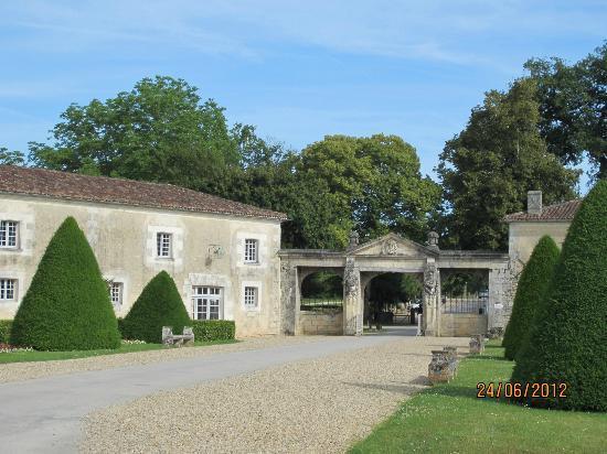 Château de La Roche-Courbon : La sortie