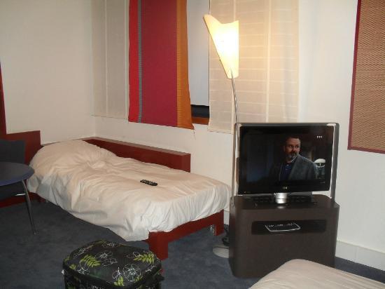 Novotel Suites Nice Aeroport: lit pour 1 personne