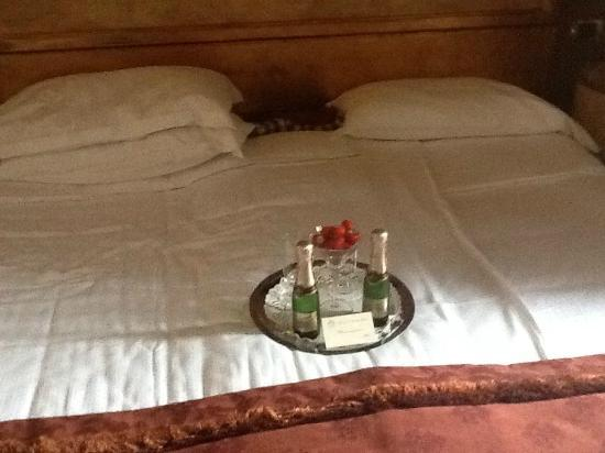 Hotel San Anselmo: Dettaglio della camera Cardinalizia... 
