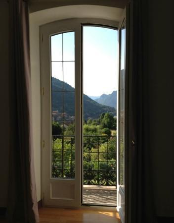 La Pierre Bleue : View from our bedroom