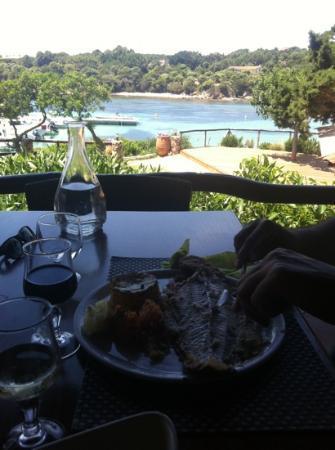 L'Escale : poisson frais sur la terasse