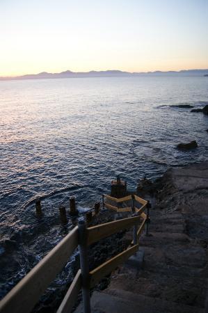 Sun Club Eldorado: Vue de la plage de l'hotel