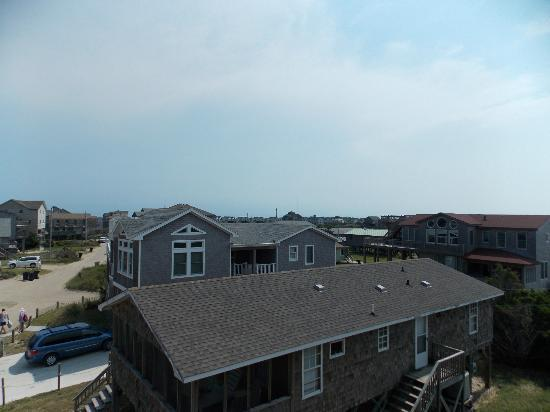 Outer Banks Motel: view from Cape Top deck