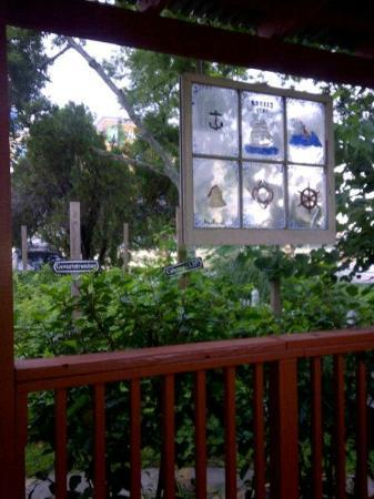 Clipper House Inn: View from the porch of the Elissa