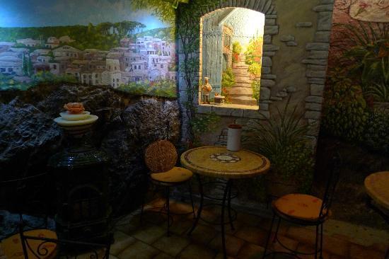 La Fleur de Thym: Intérieur du restaurant