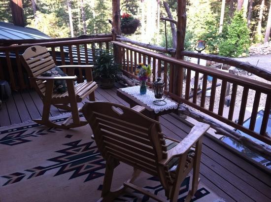 Lanzarotta Bed and Breakfast: deck