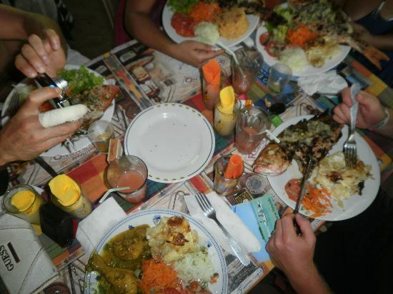 Chez Liline: la table
