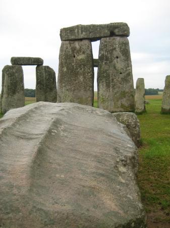 Salisbury & Stonehenge Guided Tours: Pat Shelley's Tour of Stonehenge -- one of the trilithons