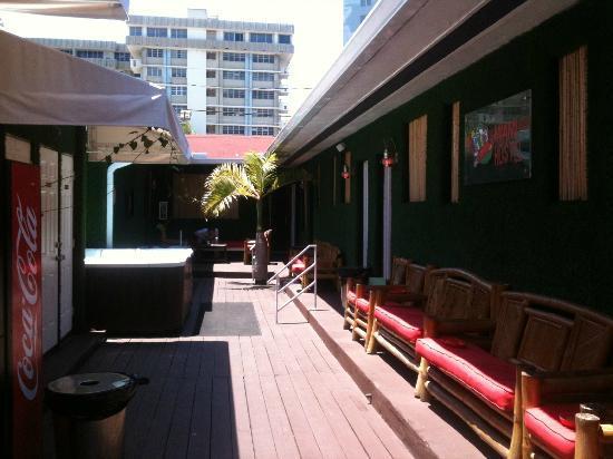 Miami Hostel: accès aux chambres