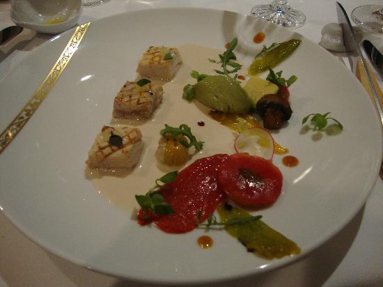 Hôtel La Résidence de la Pinède : Great local fish menu