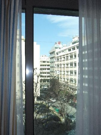 Radisson Blu Martinez Hotel, Beirut: View from the window