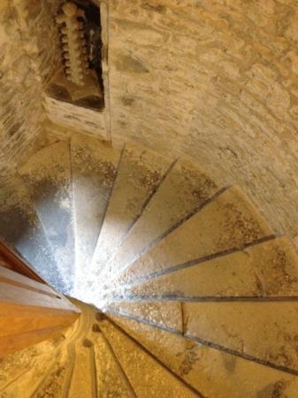 Manoir de Beaucron : le scale