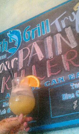 Goodfish Grill: get this drink!