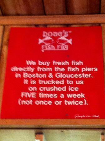 Doug's Fish Fry: :-)