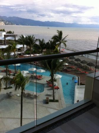 Now Amber Puerto Vallarta: view from our room