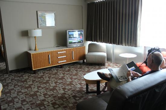 The State House Inn - an Ascend Collection Hotel: Other half of the main living area