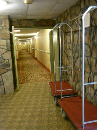 Comfort Inn Grantsville-Deep Creek Lake: First floor hallway