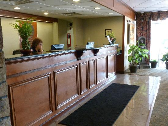 Comfort Inn Grantsville-Deep Creek Lake: Reception Area